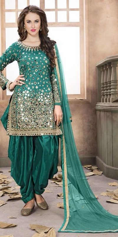 extreme-real-mirror-work-party-wear-green-color-patiyala-suit